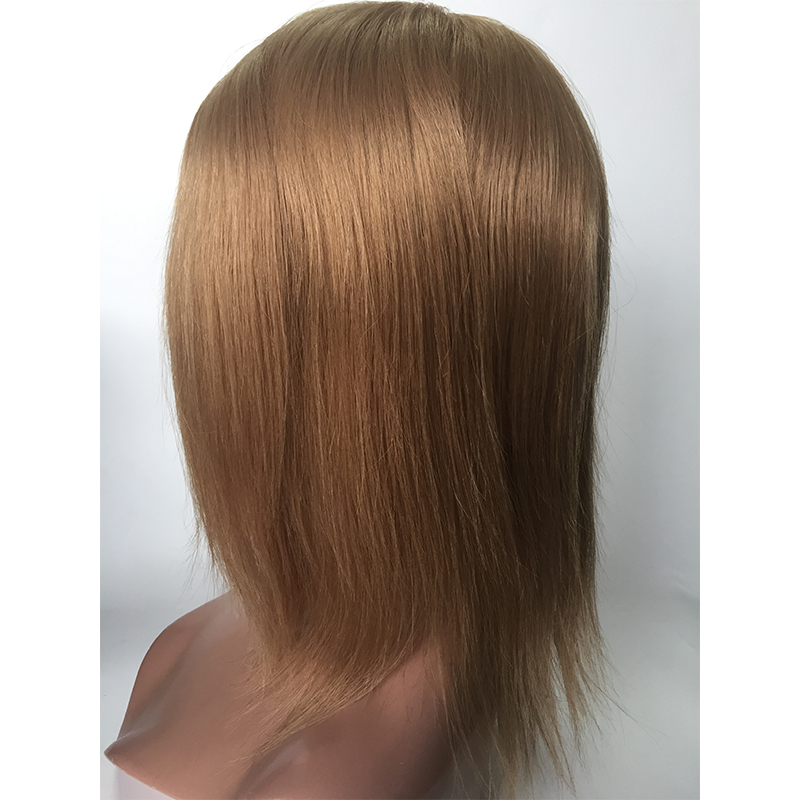 HD lace wigs with silk base ash blonde customized wigs YL441
