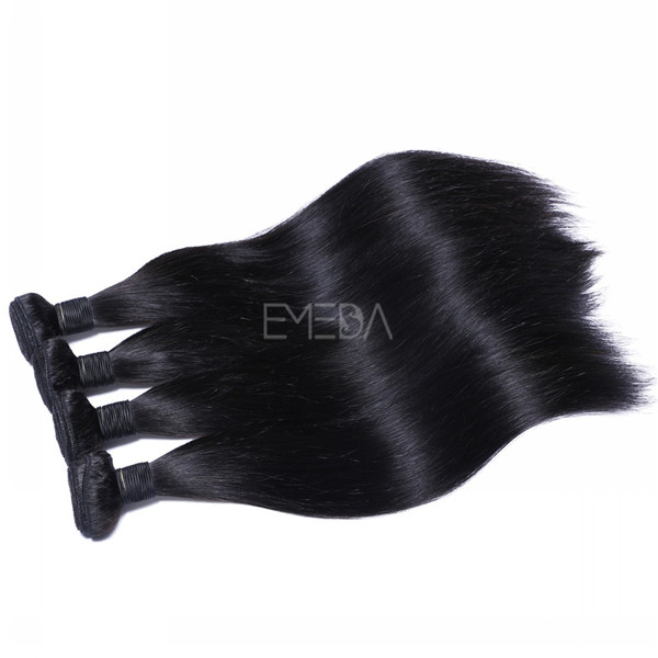 Virgin unprocessed 100% human hair weave            ZJ0082