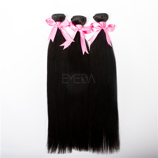 wholesale 7A unprocessed peruvian virgin human hair extension CX014