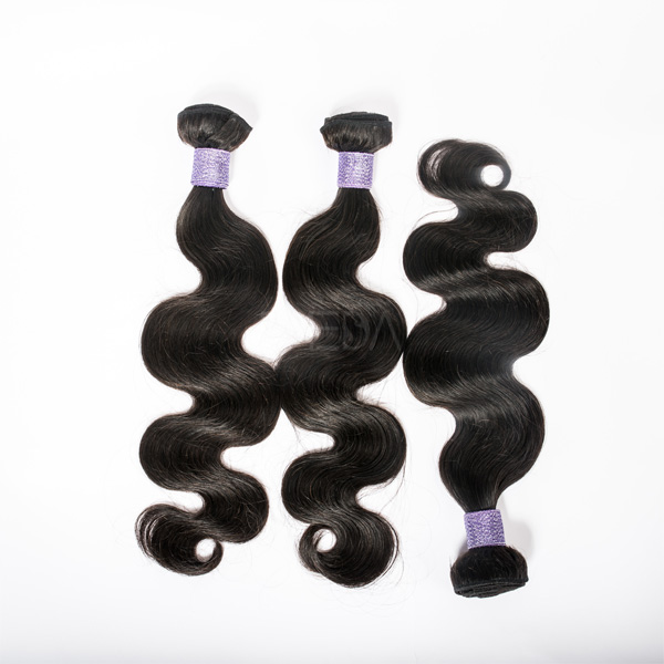 Malaysian body wave 100g soft hair extension without synthetic hair CX010