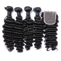 Hair bundles with closure LJ227