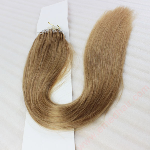 China Micro Beads For Hair Extension Factory Fusion Remy Human Hair Suppliers Extensions  LM375