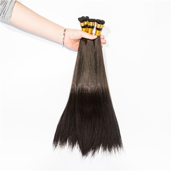 10A unprocessed raw human hand tied weft hair extension Qingdao EMEDA HN175