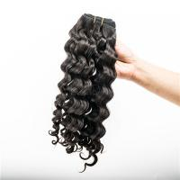 Malaysian hair water curl hair weave  LJ56