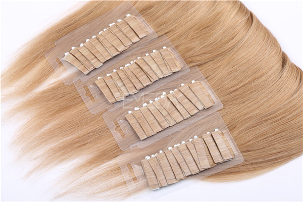 100% Russian hair tape in hair extensions ZJ0056