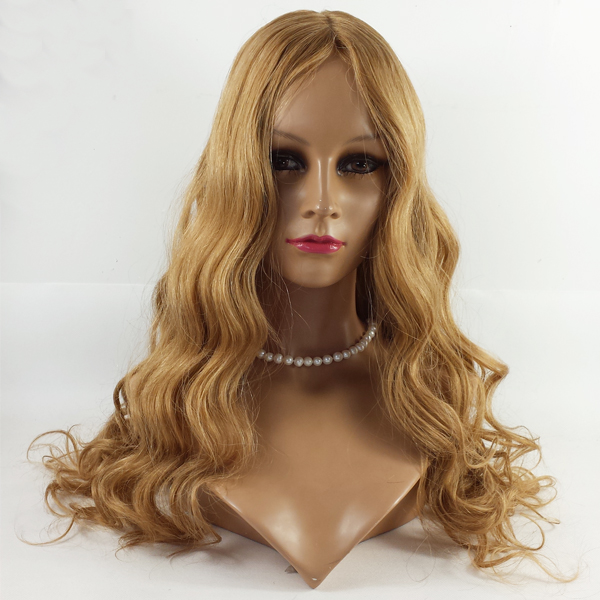 Factory Price Colorful Heavy Density Virgin Remy European Hair Jewish Wigs HN153