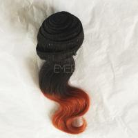 Factory supply 10 inch body wave hair with extensions YJ71