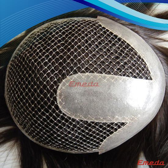 indian remy fish net human hair wig