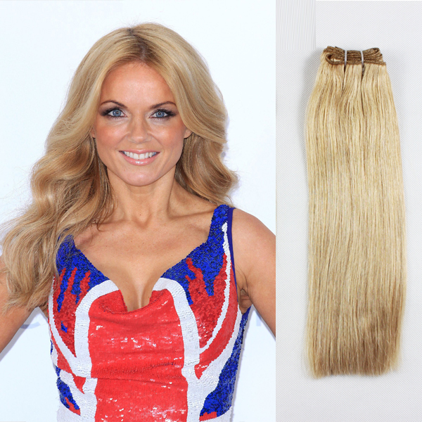 For white women hair extensions blonde  LJ22