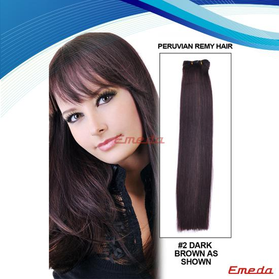 Human unprocessed virgin brazilian loose wave human hair extensions