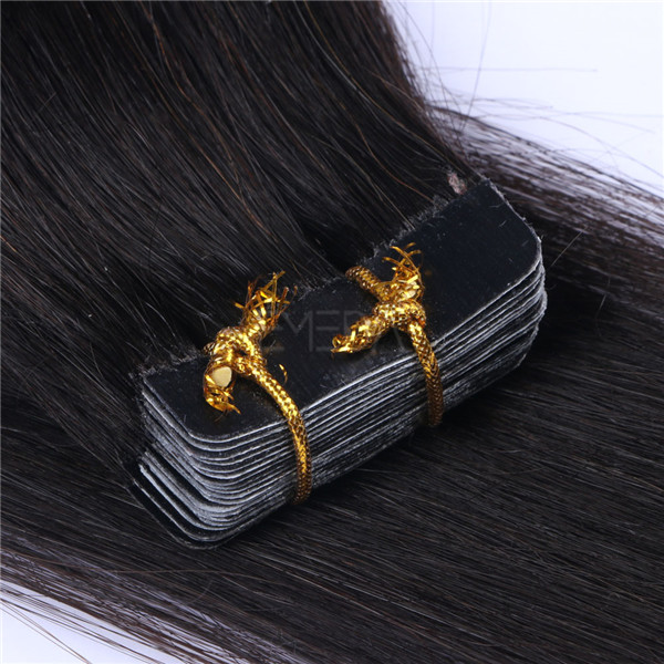 Tape in hair manafactures where to buy good quality hair extensions with cheap price YL257
