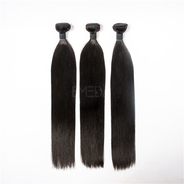 Factory supply Peruvian stragiht hair weave with competitive price JF063