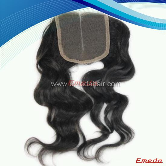 100% human hair lace closures
