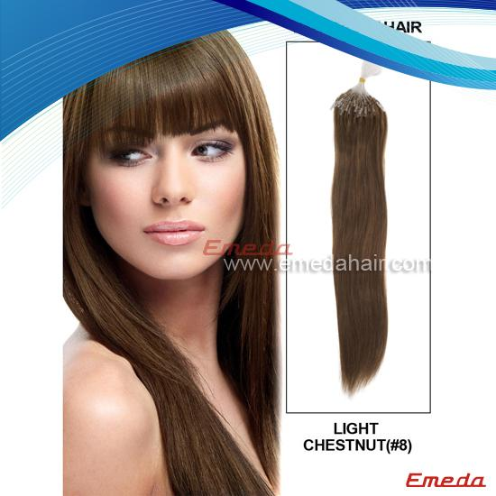 micro ring hair weft