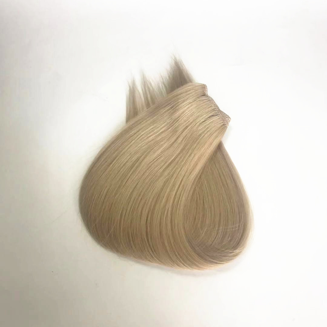 Ice color mix with light color 100 grams hair extension higest quality factory price WK257