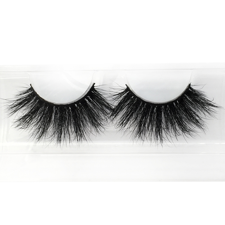 25mm Eyelashes Factory Supply New Fashionable 5d Mink Eyelashes PY22