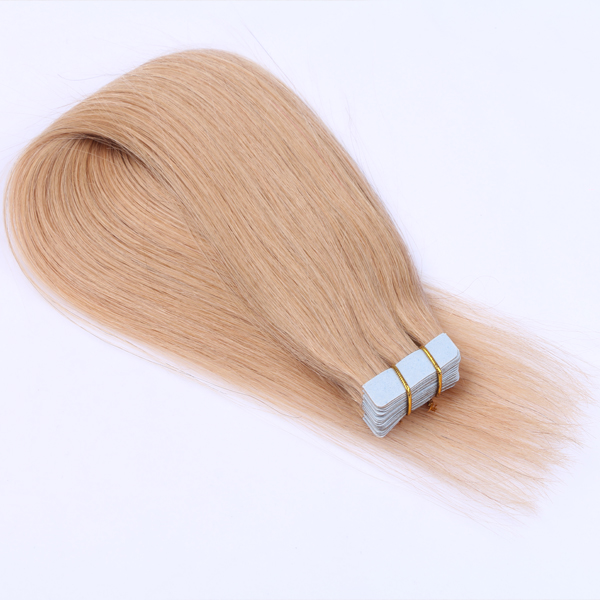 100% remy human hair tape in hair extensions JF0206