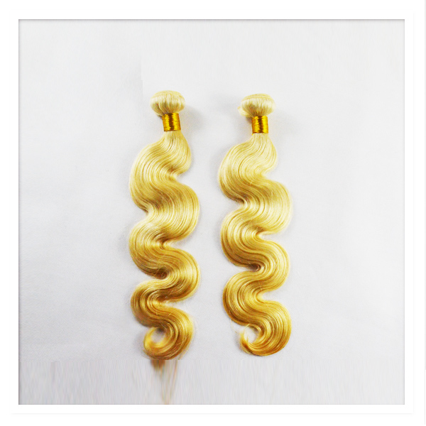 18 hair extensions body wave blonde LP13