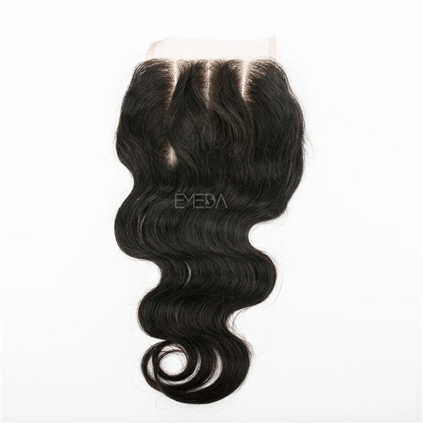 three part body wave lace closure  LJ38