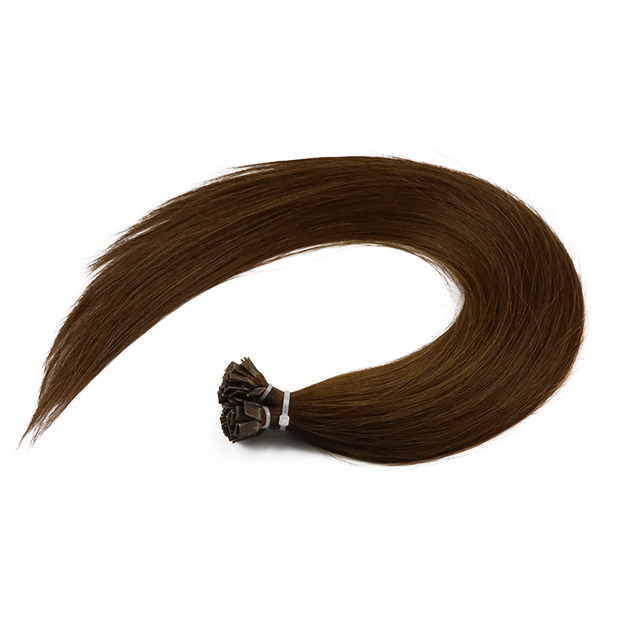 Silky Smooth Soft healthy end flat tip hair extension thick hair WK274