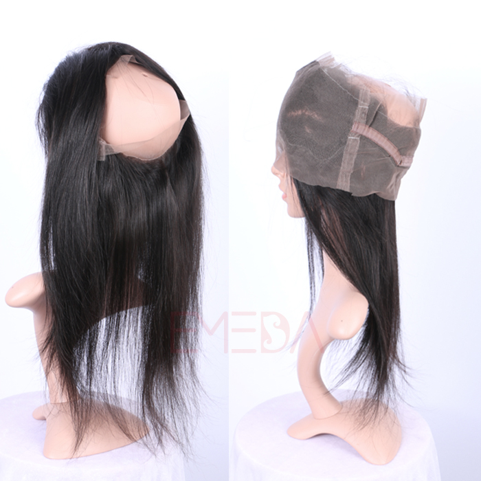 EMEDA 360 lace frontal body wave Brazilian Hair 360 lace Frontals with baby hairHW025