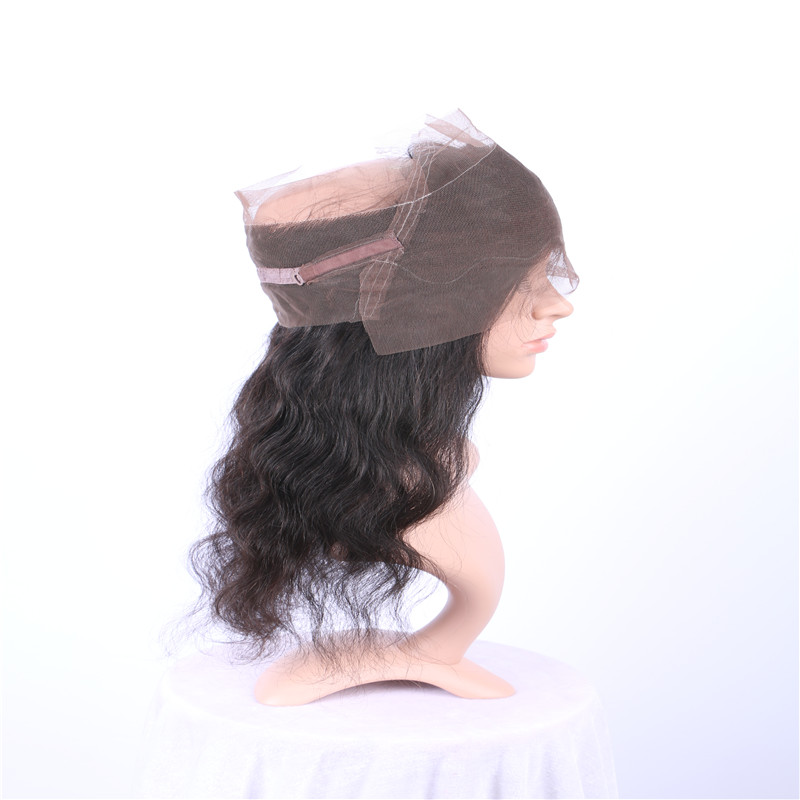 360 Lace Wig fro Black Woman Human Hair Body Wave WK112