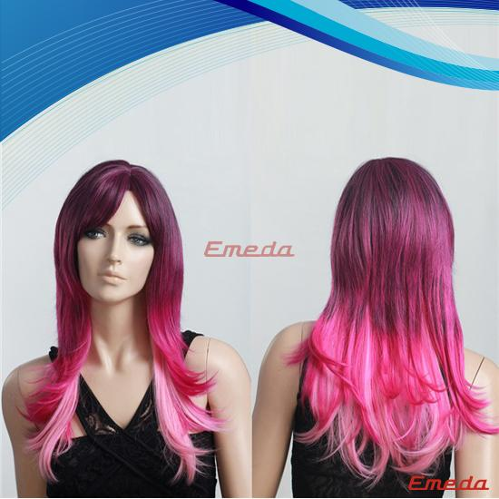 cheap synthetic cosplay wig