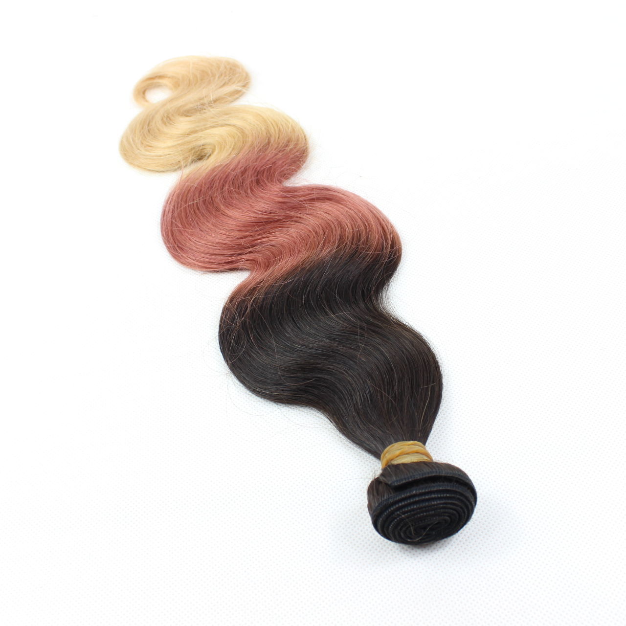 Wholesale remy hair weaving  3T color 100% human hair extension YL168