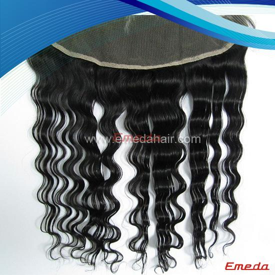 lace closure brazilian deep wave