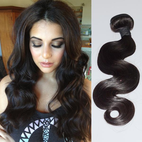 Peruvian Hair Bundles Milky Way Hair Body Wave Weave Hn119 Emeda Hair