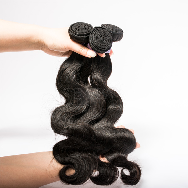 EMEDA hair facotry supply Peruvian hair weave body wave instock JF061