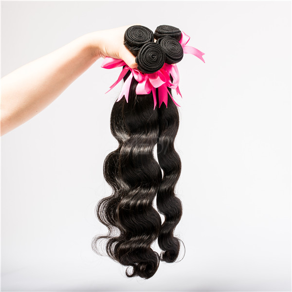 Brazilian virgin hair body wave 100% human hair weave YL009