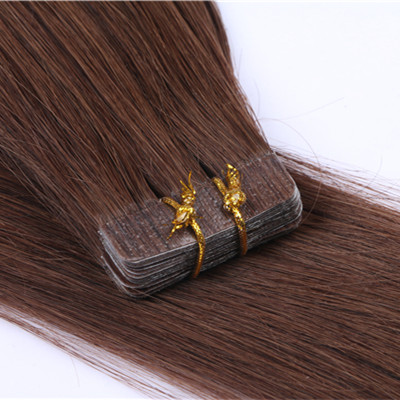 Tape in hair extensions remy,red tape in hair exte...</>