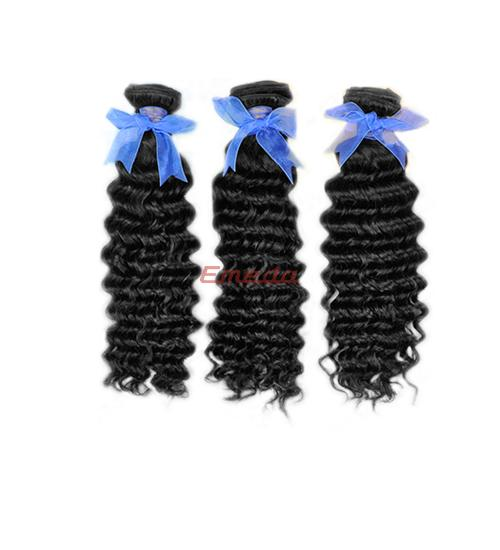 Popular cheap factory sale perfect black lady Mongolian remy hair extensions