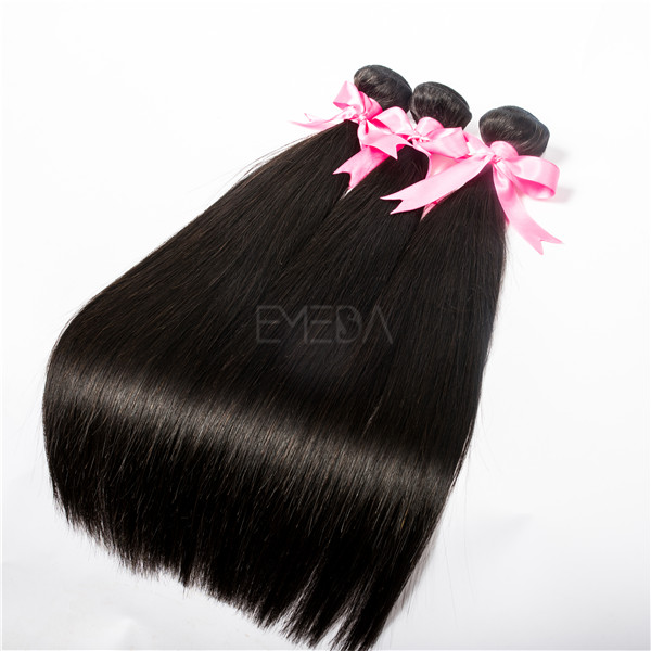 Silk straight unprocessed virgin hair 20 inch hair extensions  LJ25