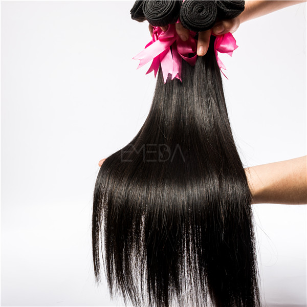 EMEDA hair factory supply brazilian straight hair weave JF12