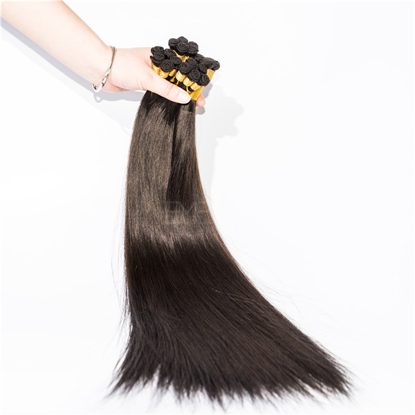 Best hair extensions cheap human hair weave with stright wave curl HN110