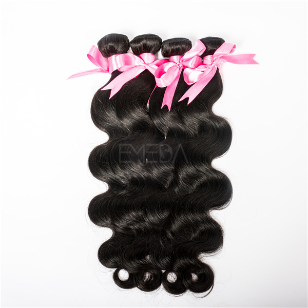Indian hair Body wave elegance hair extensions  LJ26