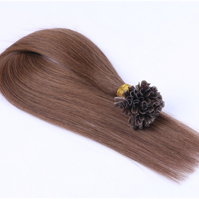 Brazilian hairs u tip,human hair u tip,pre-bonded hair extension HN364