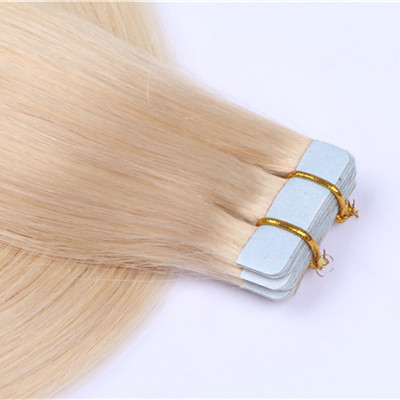 Tape in extensions human hair,human hair tape in extensions,tape in hair extensions HN378