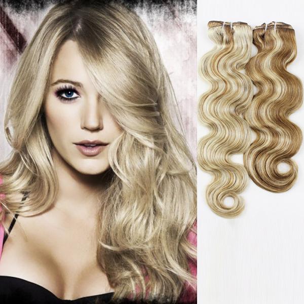 Dark Blonde Hair Extension Lj20 Emeda Hair