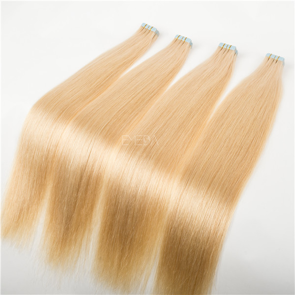 Blonde tape hair extensions Best sell hair extensions in toronto  LJ34