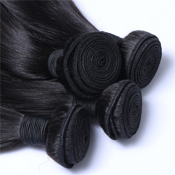 Brazilian Human Hair Weaves Hot Sale Worldwide Hair Weft Straight Weave  LM122