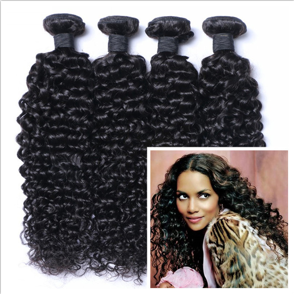 Virgin hair kinky curl for Africa  fashion black woman XS001