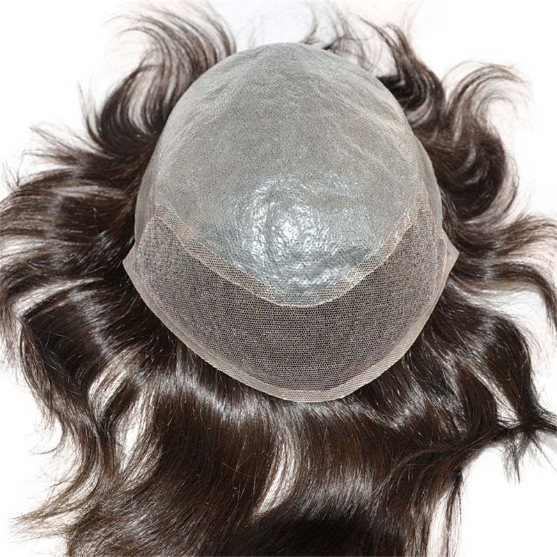 BIO toupee Cheap Wig for Men can Make with Grey Hair WK051