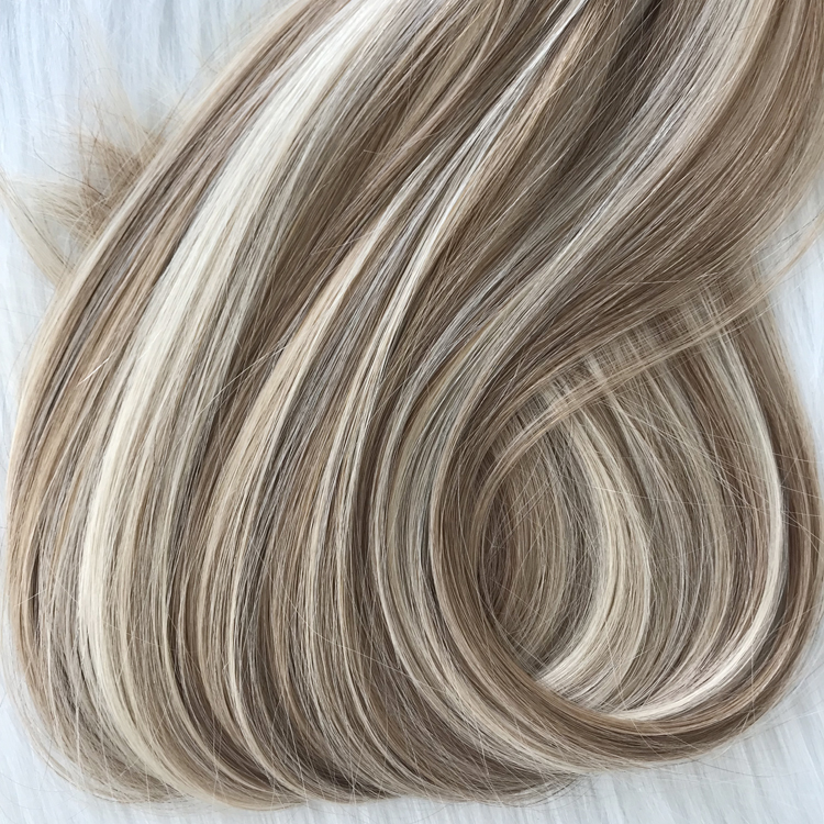 Best balayage piano mixed color double drawn clip in hair extensions 120g yj301
