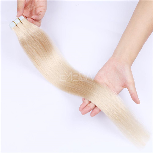 Wholesale 10A Remy Extensions Double Drawn Tape In Hair Extensions YL182