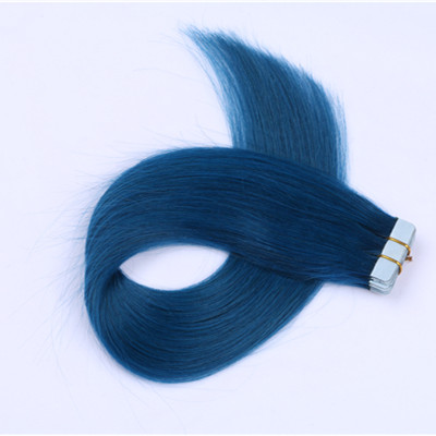 Tape in hair extensions human,double drawn tape in human hair,remy tape in hair extensions HN376