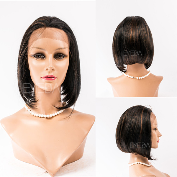 Bob style short full lace wigs YJ95