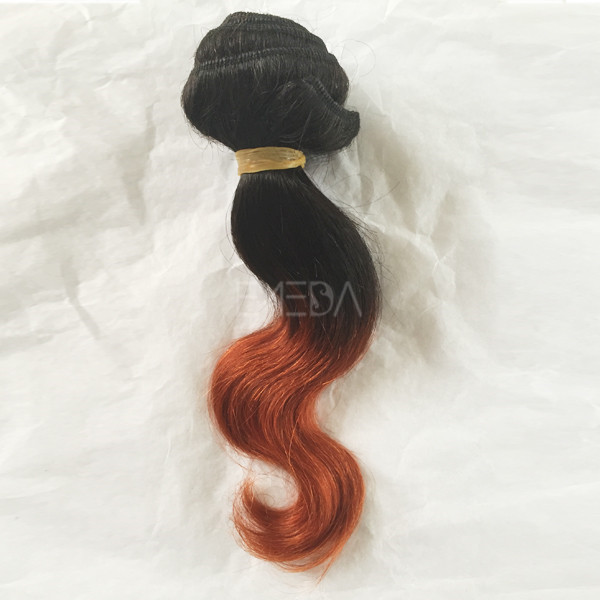 Factory supply 10 inch body wave hair with extensions WK206